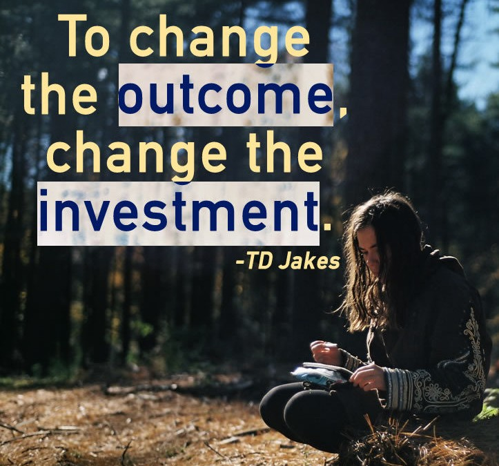 To Change the Outcome