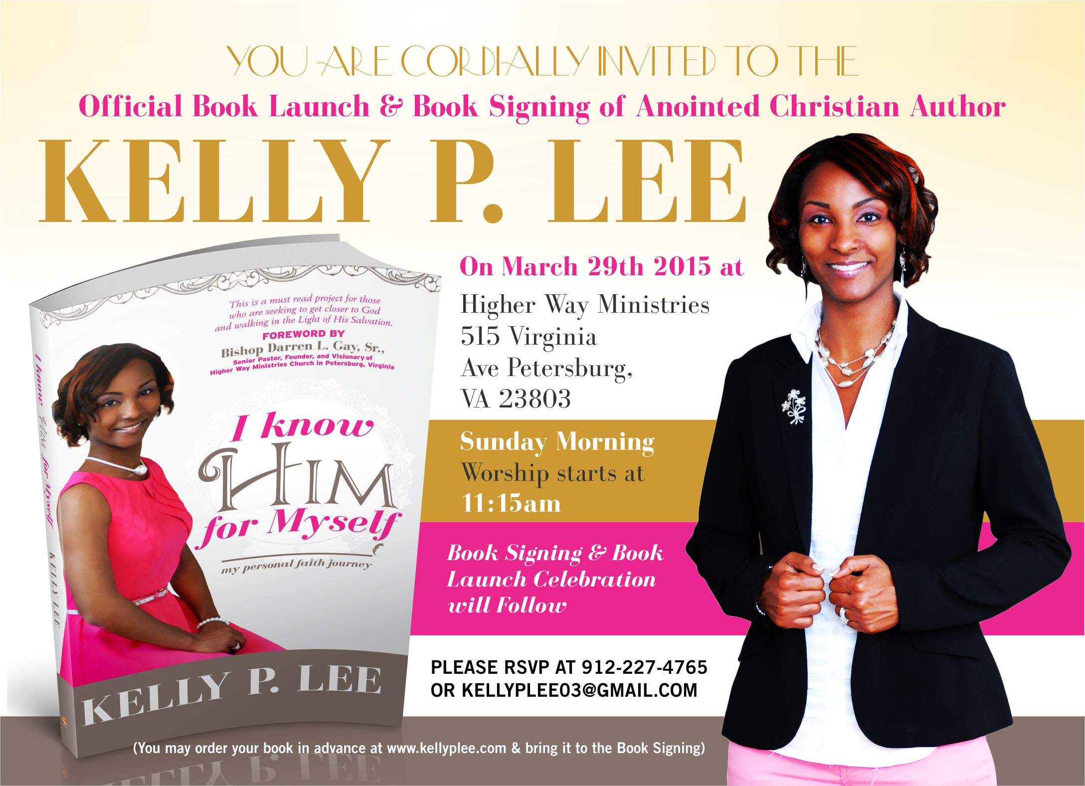 kelly book launch flyer